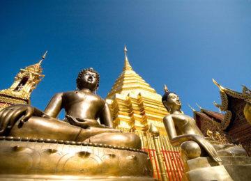 Chiang Mai Wat Phrathat Doi Suthep © Thailändisches Fremdenverkehrsamt