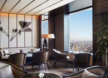 Club Lounge – Garden Terrace ©The Ritz Carlton Tokyo