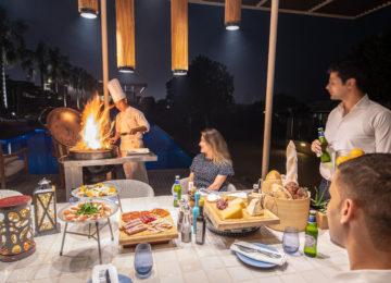 Communal BBQ _The Oberoi Beach Resort Al Zorah Ajman