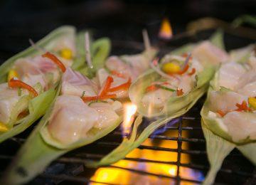Aqua Nera Amazon Select Luxury Travel Luxusreise Cuisine by World Renown Chefs-Grilled Amazon Fish Ceviche