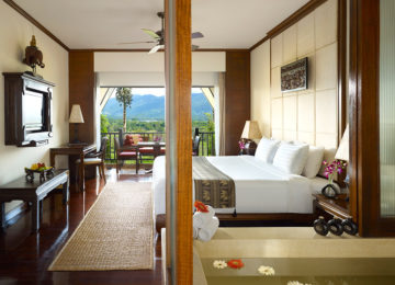 Deluxe Three Country View Room © Anantara Golden Triangle Elephant Camp Resort
