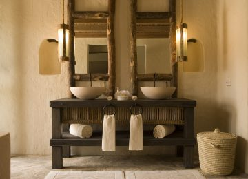 Badezimmer Six Senses Zighy Bay Pool Villa Beachfront Villa Select Luxury Travel Oman