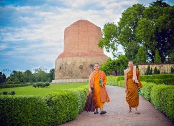 Dhamek Stupa, Sarnath © Fremdenverkehrsamt Indien
