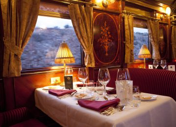 Dinner Tren Al Andalus © Renfe