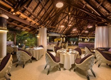 Diva Restaurant Constance Lemuria Resort Praslin, Seychellen