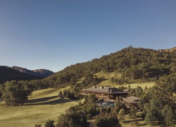 Drone Resort ©Emirates One&Only Wolgan Valley