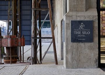 Eingang The Silo Hotel, Kapstadt © The Silo Hotel_h