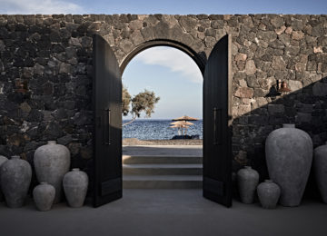 Eingang©Istoria Hotel, a Member of Design Hotels, Santorin