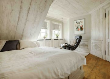 Exclusives Ferienhaus Sylt Master Bed Room