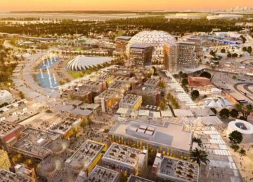 Expo 2020 Together Aerial © Expo