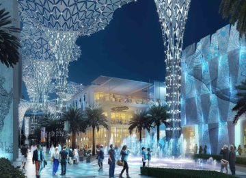 Expo 2020 Water Feature © Expo