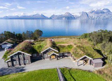Exterior©Lyngen Lodge Norwegen