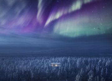 Exterior©Octola Wilderness Lodge Finnland Lappland
