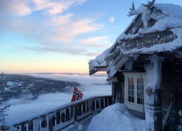 Exterior Norefjellhytta Restaurant & Overnatting