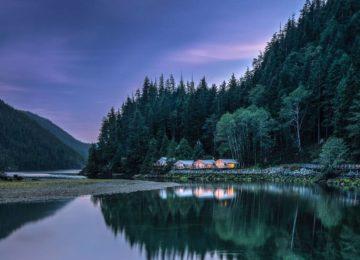 Exterior View©Clayoquot Wilderness Resort