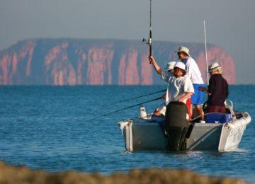 Fishing in the Kimberley©True North Adventure Cruises
