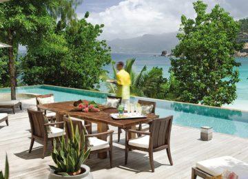 Four Seasons Mahe©Pool Three bedroom beach Suite