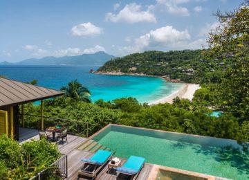 Four Seasons Seychellen Mahe Two bedroom Ocean View Suite
