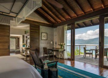 Four bedroom Residence villa©Mahe Four Seasons