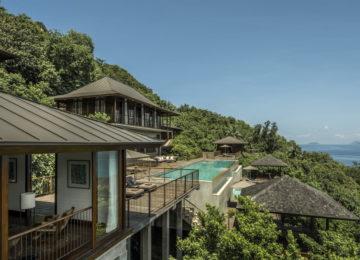 Four bedroom Residence villa Mahe Four Seasons