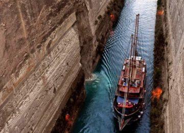Kanal von Korinth ©Galileo Luxuskreuzfahrt