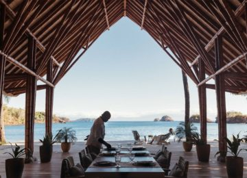 Meerblick vom Restaurant©Islas Secas Resort