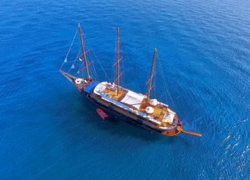 Galileo von oben betrachtet ©Galileo Luxuskreuzfahrt
