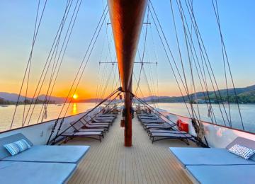 Galileo Variety Cruises Sonnenuntergang                                                           ©Galileo Luxuskreuzfahrt
