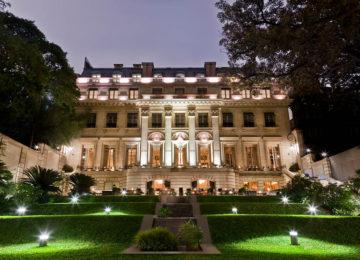 Garten und Fassade © Park Hyatt Buenos Aires