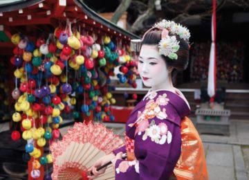 Geisha im Temel©Destination Asia
