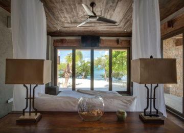 Gladden Private island Belize Bedroom
