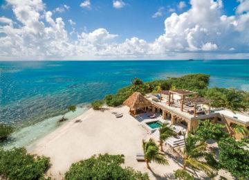 Gladden Private island Belize Villa