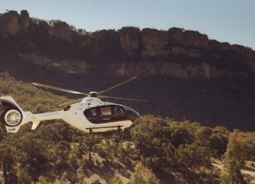 Helicopter ©Emirates One&Only Wolgan Valley