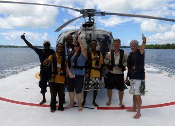 Helicopter Student Flight©True North Adventure Cruises