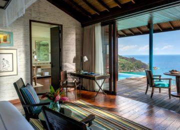 Hilltop Ocean View Villa©Four Seasons Mahe