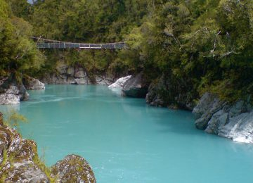 Hokitika Gorge Swing Bridge © Rimu Lodge