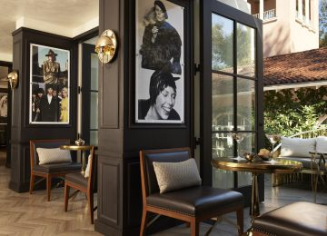Hotel Bel Air Bar Alcoves © Dorchester Collection