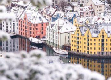 Hotel Brosundet Alesund Norwegen