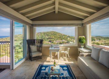 Chia Laguna Resort Sardinien_Luxury Panorama Suite_Studio Living