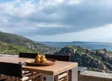 Terrasse mit Meerblick©Acron Villas Paros