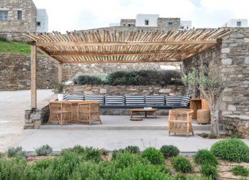 Außenbereich Villa©Acron Villas Paros