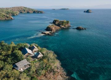Islas Secas von oben betrachtet ©Islas Secas Resort