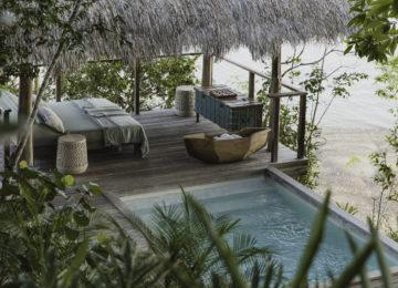 Casita Sombras Plunge Pool©Islas Secas Resort
