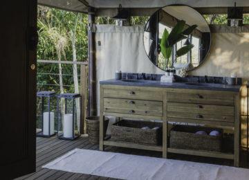 Tented Casita Badezimmer©Islas Secas Resort