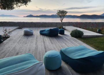 Lounge mit Meerblick©Lopud 1483