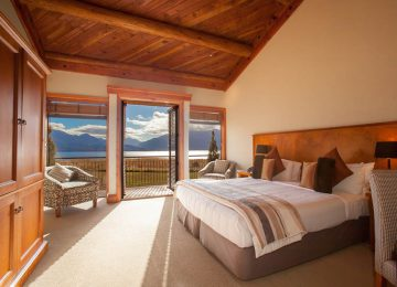 In the bed rooms © Fiord Land Lodge