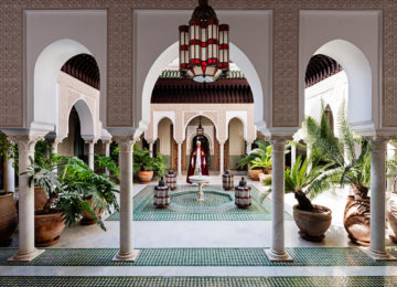 Patio Andalous, La Mamounia 2016