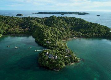 Islas Secas von oben betrachtet©Islas Secas Resort
