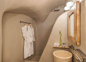 The Ivory Suite Badezimmer©Hommage Villa Collection, Santorin, Oia