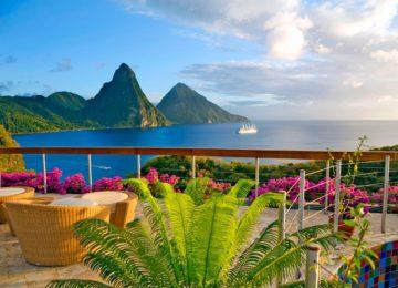 Karibik – St. Lucia, Jade Mountain Resort